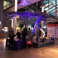 California Academy of Sciences Purple Dino